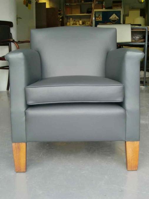 strak grijs en klaar om lekker op te zitten!