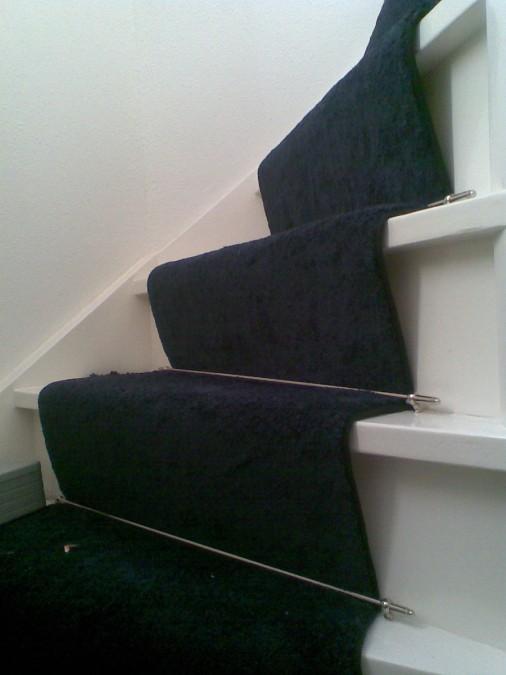 ook mogelijk op een nieuwbouw trap.